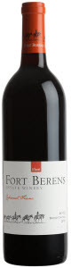 Fort Berens Cabernet Franc 2010, BC VQA Bottle