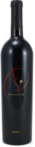 Pirouette Red Blend 2005, Columbia Valley Bottle