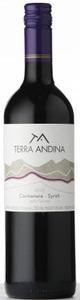 Terra Andina Carmenere Syrah 2011, Valle Del Maipo Bottle