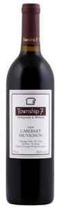 Township 7 Cabernet Sauvignon 2009, BC VQA Okanagan Valley Bottle