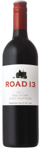Road 13 Road 9 Farm Syrah Mourvedre 2011, BC VQA Okanagan Valley Bottle