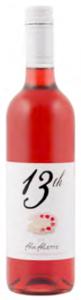 13th Street Pink Palette Rosé 2012, VQA Niagara Peninsula Bottle