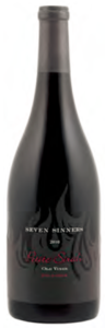 Seven Sinners The Ransom Old Vine Petite Sirah 2010, Lodi Bottle