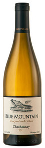 Blue Mountain Chardonnay 2011, Okanagan Valley Bottle