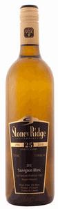 Stoney Ridge Sauvignon Blanc 2010, VQA Niagara Peninsula, 25 Anniversary Bottle