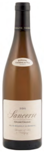 Domaine Thomas & Fils Cuvée Grand Chaille Sancerre 2011 Bottle