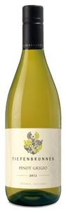 Tiefenbrunner Pinot Grigio 2012, Igt Delle Venezie Bottle