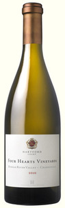 Hartford Four Hearts Vineyards Chardonnay 2009, Russian River Valley, Sonoma County Bottle