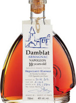 Damblat Armagnac 10 Year Napoleon (700ml) Bottle