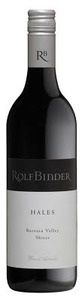 Rolf Binder Hales Shiraz 2009, Barossa Valley, South Australia Bottle