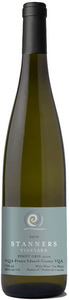 Stanners Vineyard Pinot Gris Cuivré 2010, VQA Prince Edward County Bottle