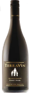 Terravin Wines Hillside Reserve Pinot Noir 2010, Marlborough Bottle