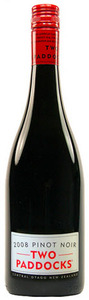 Two Paddocks Pinot Noir 2010 Bottle