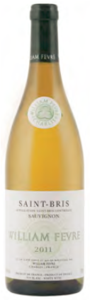 William Fèvre Sauvignon Blanc Saint Bris 2010, Ac Bottle