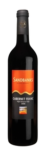 Sandbanks Cabernet Franc 2011, VQA, Prince Edward County Bottle