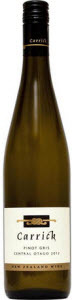 Carrick Pinot Gris 2012, Central Otago Bottle