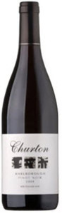 Churton Estate Pinot Noir 2009, Marlborough Bottle