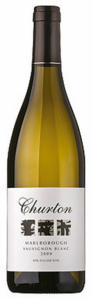 Churton Marlborough Sauvignon 2009, Marlborough Bottle
