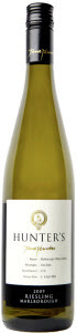 Hunter's Riesling 2012, Wairau Valley, Marlborough Bottle
