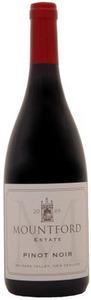 Mountford Estate Pinot Noir 2008, Waipara Valley Bottle