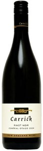 Carrick Pinot Noir 2009, Central Otago, South Island Bottle