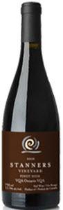 Stanners Vineyard Pinot Noir 2010, VQA Ontario Bottle