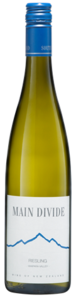 Main Divide Riesling 2010 Bottle