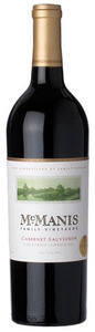 Mcmanis Cabernet Sauvignon 2011, California Bottle