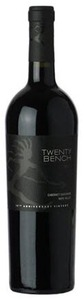 Twenty Bench Cabernet Sauvignon 2010, Napa Valley, 10th Anniversary Vintage Bottle