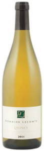 Domaine Lecomte Quincy 2011, Ac Bottle