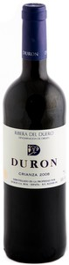 Durón Crianza 2009, Do Ribera Del Duero Bottle