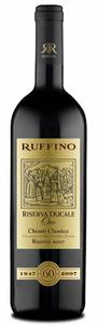 Ruffino Riserva Ducale 'oro' Chianti Classico 2007, Docg Bottle