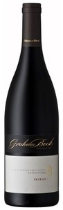 Graham Beck Shiraz 2009, Wo Coastal Region Bottle