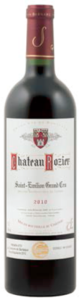 Château Rozier 2008, Ac Saint-Émilion Grand Cru Bottle