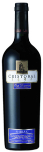 Don Cristobal 1492 Oak Reserve Shiraz 2010, Mendoza Bottle