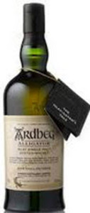 Ardbeg Alligator The Ultimate Islay Single Malt Scotch Whisky, Rare Limited Release, Non Chill Filtered Bottle