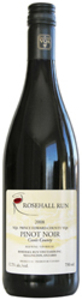 Rosehall Run Pinot Noir Cuvée County 2007, VQA Prince Edward County Bottle