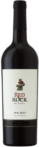 Red Rock Winery Malbec 2011, California Bottle