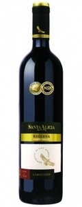 Santa Alicia Carmenere Reserve 2011, Maipo Valley Bottle