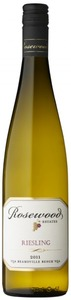 Rosewood Estates Riesling 2011, VQA Beamsville Bench Bottle