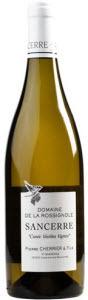 Pierre Cherrier Domaine De La Rossignole 2012, Sancerre Bottle