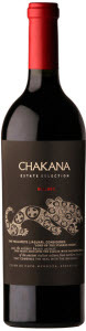 Chakana Estate Selection Malbec 2010, Luján De Cuyo, Mendoza Bottle