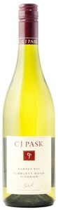 C.J. Pask Gimblett Road Viognier 2011, Hawkes Bay, North Island Bottle