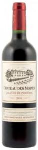 Château Des Moines 2010, Lalande De Pomerol Bottle
