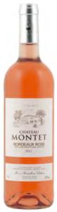 Château Montet Rosé 2012, Ac Bordeaux Rosé Bottle