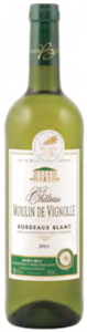Château Moulin De Vignolle 2011, Ac Bordeaux Blanc Bottle