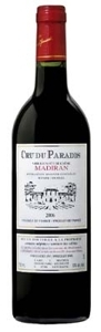 Cru Du Paradis Tradition Madiran 2009, Ac Bottle