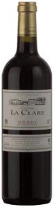 Château La Clare 2009, Ac Médoc Bottle