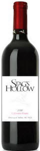 Stag's Hollow Cabernet Franc 2010, BC VQA Okanagan Valley Bottle