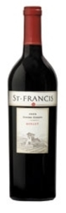 St. Francis Merlot 2008, Sonoma County, Estate Btld. Bottle
